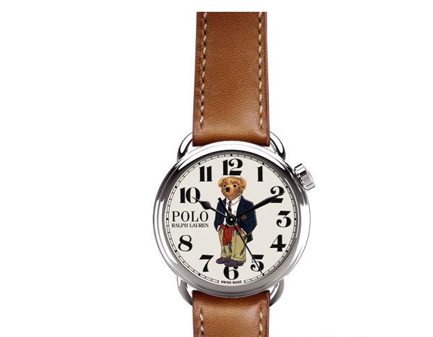 拉夫·劳伦 (Ralph Lauren) 推出Polo Bear系列腕表