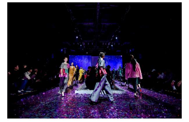 中国国际时装周—设计师王玉涛携Beautyberry全新系列发布