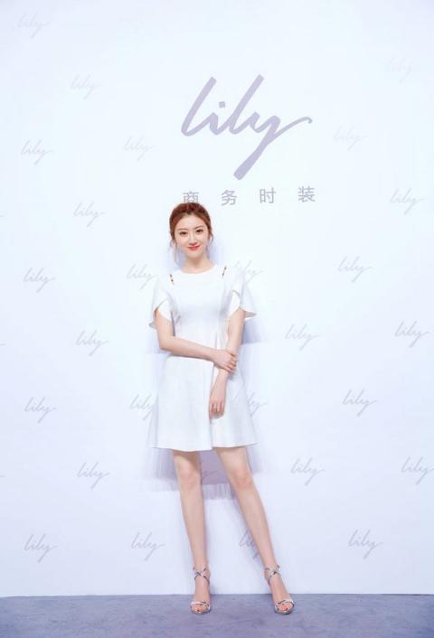 景甜助力商务女装第一品牌 Lily双十一年度品牌限量发售