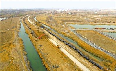 控制水环境污染 银川市水体清污分流项目11月底完工