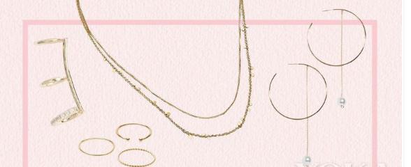 可爱又迷人珠宝 件件都能搭出N种风格
