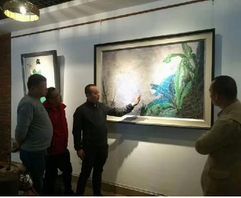 沅芷澧兰—解澜涛作品展开幕 展出最新油画作品共30余件
