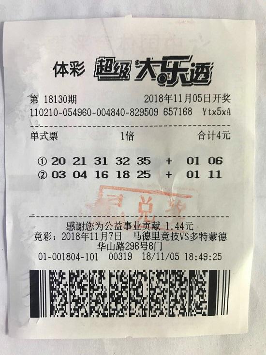 """沈阳""""邻居组合""""摘下大乐透1000万大奖"""