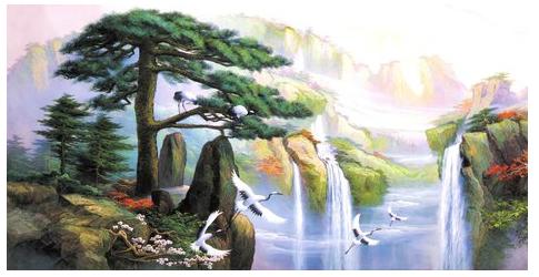 """""""印象黄山—朱峰油画作品展""""在黄山市美术馆开幕 展出的百幅油画"""