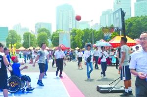 健康相伴幸福敲门 公益金助力群众体育蓬勃开展