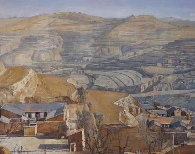 潍坊籍80后画家免费向市民展出70幅精美油画