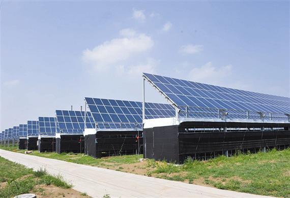 江陵县850KW光伏发电扶贫项目半年累计发电49万余度