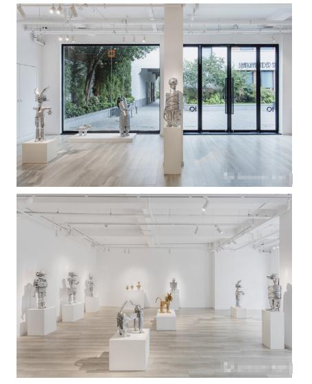 艺术家米娅·芳夏格里芙·索洛上海首个展启幕:闪亮的异形