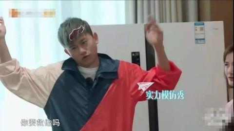 张杰模仿陈小春