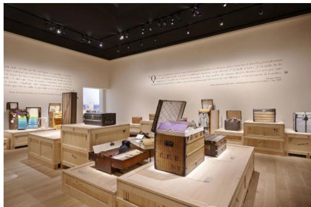 路易·威登LV (Louis Vuitton) 《飞行、航行、旅行》展览于上海展览中心举办