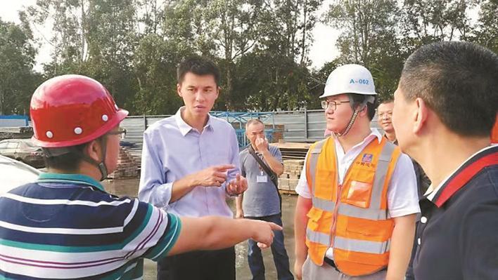 园岭街道辖区持续推进环境污染防治工作