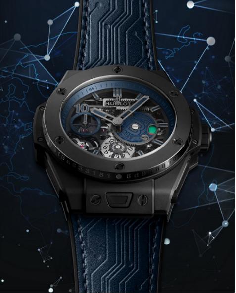 宇舶表( HUBLOT)限量腕表致敬区块链 奢侈品的数字化之路