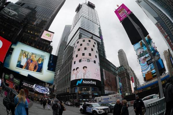知名彩妆澳门葡京娱乐稚优泉 强势登陆纽约时代广场纳斯达克大屏