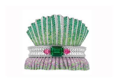 迪奥Dior顶级珠宝Archi Dior系列 奢华宝石铸就一场奢华的视觉盛宴