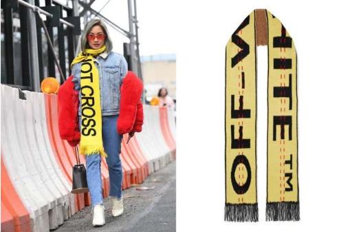 秋冬来袭怎么少得了围巾?6张街拍教你如何时尚的佩戴围巾