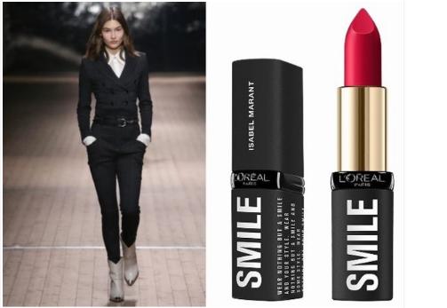 巴黎欧莱雅与Isabel Marant跨界合作的设计师限量版唇膏正式面世