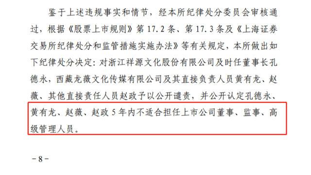 赵薇遭上交所封杀 5年内不适合担任上市公司董监高