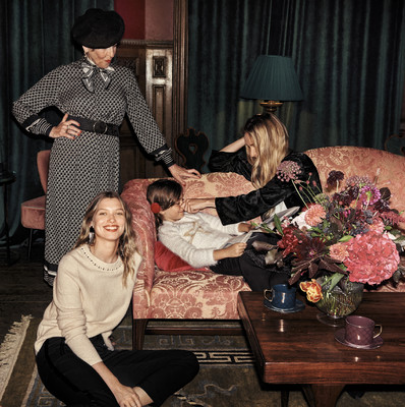 H&M 2018假日系列广告大片 洋溢着童话般风格!