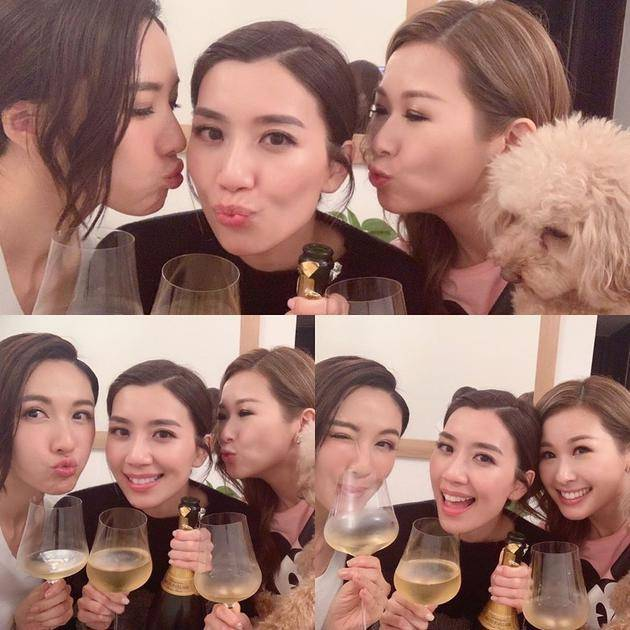 黄智雯成双料视后 闺蜜李施嬅凌晨3点为其庆祝