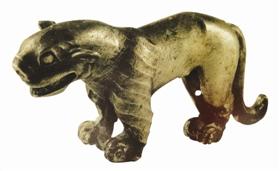 罕见的战国晚期动物银饰你见过吗?