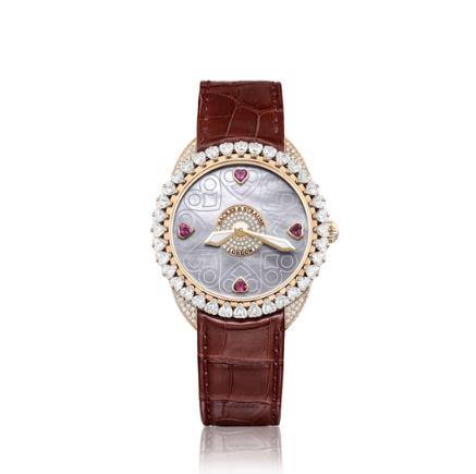 英国奢华腕表品牌BACKES & STRAUSS 呈现四款高级珠宝腕表新作