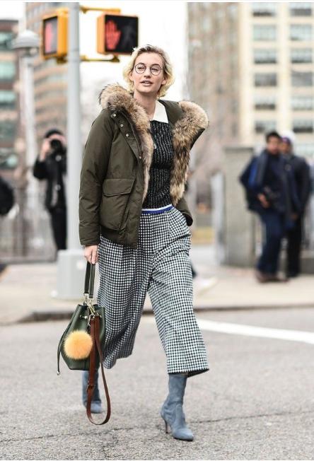 冷空气来袭又怎样?穿上这件外套让你继续美丽过冬