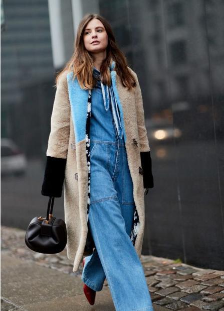 秋季最帅气的连体裤 冬天也可以穿!