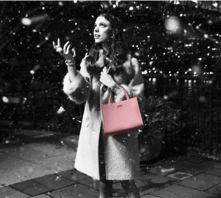 凯特·丝蓓 (kate spade new york) 2018假日系列广告大片