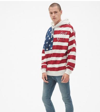 Gap第七度携手《GQ》推出限量版男装系列 重塑经典的Gap运动衫