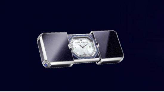 海瑞温斯顿新品腕表 重现品牌经典造型