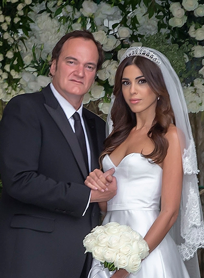 大导演昆汀与小20岁女友结婚 两人都是第一次婚姻