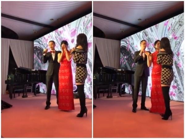 张韶涵为婚礼献唱 新郎说错歌名 新娘超尴尬