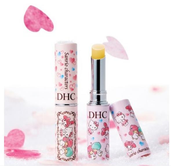 全新蝶翠诗 (DHC) 三丽鸥明星橄榄护唇膏发布!