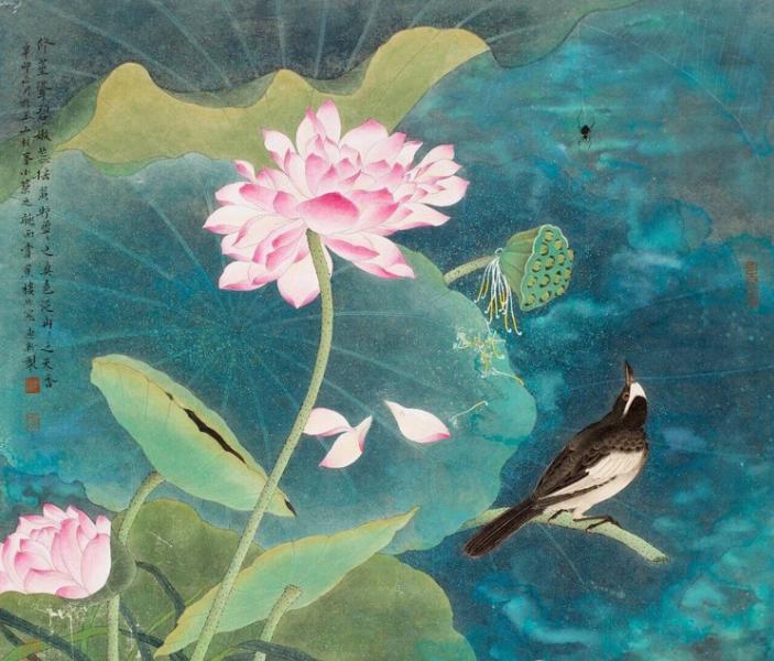 张惠新、陈珺书画展将在四合空间开展