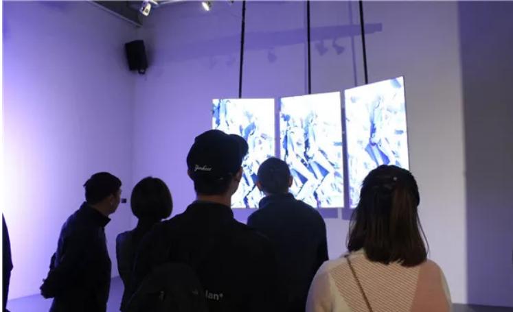 """""""互控与互文·新媒体艺术展""""之空间开幕"""