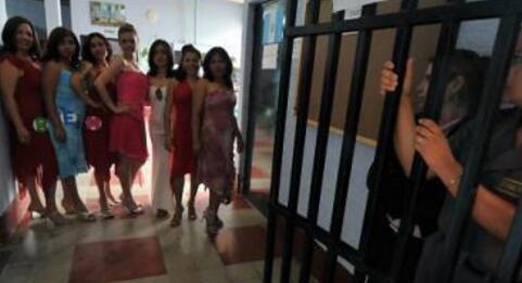 巴西监狱选美活动 这是让女性重新参与社交的一种方式