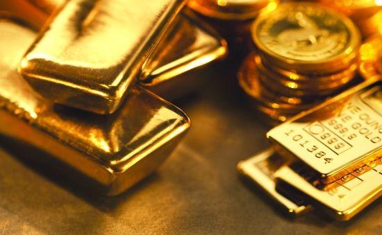 周二欧市尾盘 现货黄金徘徊在关键的1240关口附近