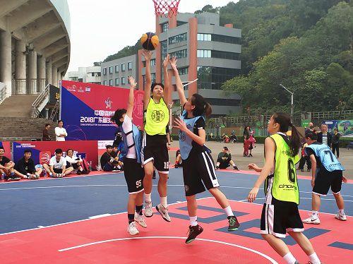 体彩・广东3X3篮球联赛44强分站赛在顺德热血上演