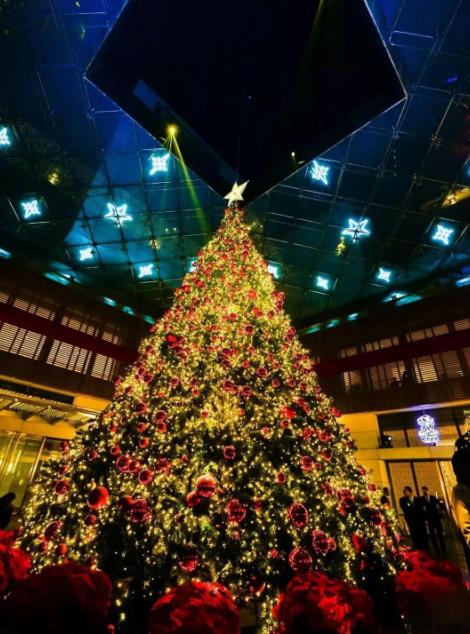 伯尼纳珠宝携手金融街丽思卡尔顿开启圣诞点灯仪式