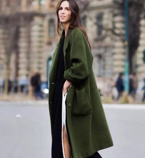 欧美博主街拍:秋冬大衣也有这么多花样 快来一起填满衣橱!