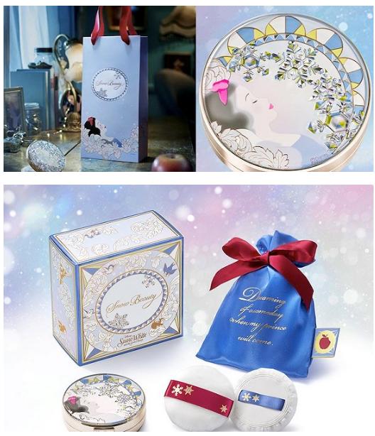 资生堂推出白雪公主花蜜粉饼