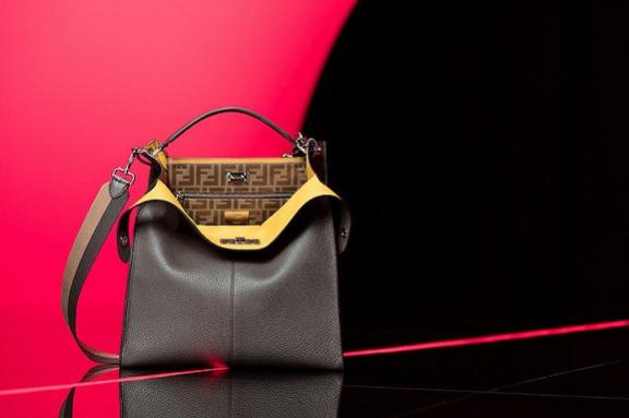 Fendi推出男士Peekaboo X-Lite手袋