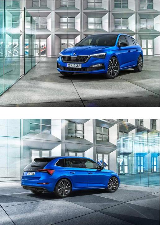 斯柯达全新两厢车SCALA正式发布 将亮相2019年日内瓦车展