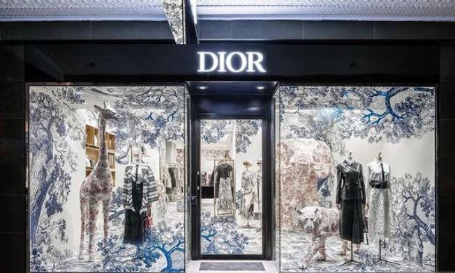 迪奥 (Dior) 将Logo改为全大写DIOR 赶上2018换Logo末班车