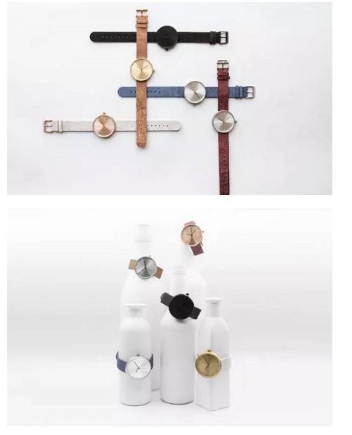 Analog Watch Co.推出新手表 表带是被葡萄酒汁浸染过的软木