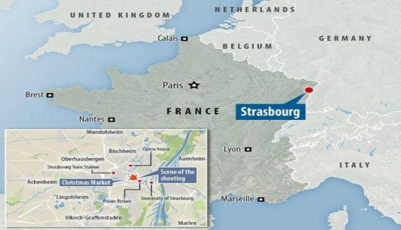 法国圣诞集市枪击案 反恐部门已开始调查该事件