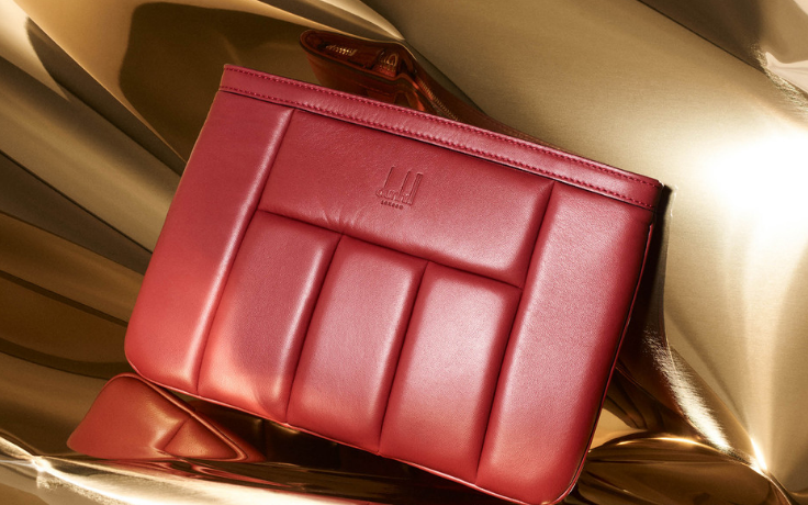登喜路 (Dunhill) 推出限量版Concours红色皮革包