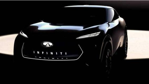 英菲尼迪电动跨界概念车预告图曝光 2019底特律车展发布