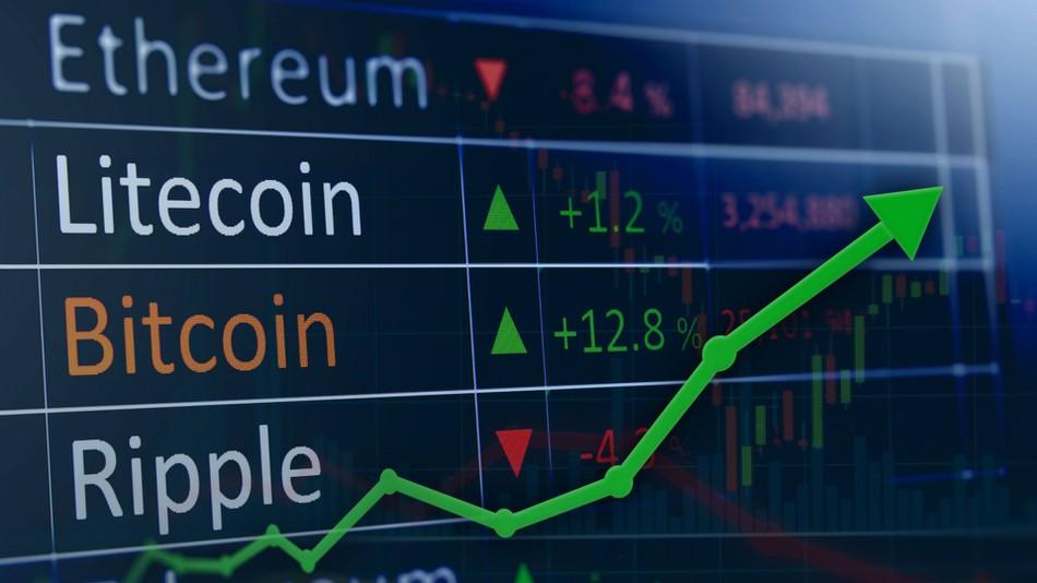 加密货币市场总市值大幅飙升50亿美元