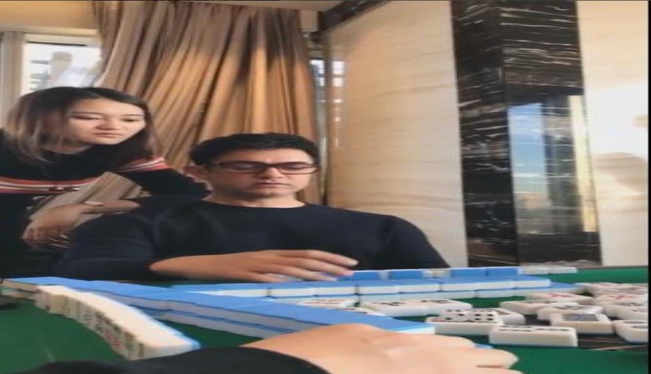 阿米尔汗直播打麻将 王宝强的调侃太逗了